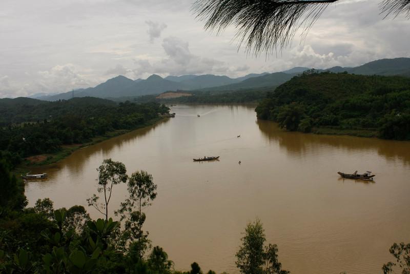 Perfume River, Hue, Vietnam