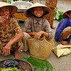 Market ladies in Hue, Vietnam