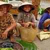 Market ladies in Hue, Vietnam