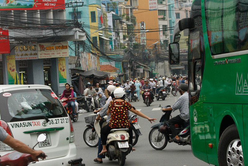 Downtown, Saigon, Vietnam