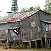 Stilt house, Mekong River, Vietnam