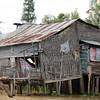 Stilt house, Mekong River, Vietnam