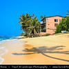 Asia - Sri Lanka - Ceylon - The Pearl of the Indian Ocean - Emerald Isle - Southern Province - Matara Area - Paradise like beaches with white sand and tropical palm trees on southern coast of Indian Ocean