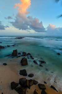 Sunset over the Laccadive Sea