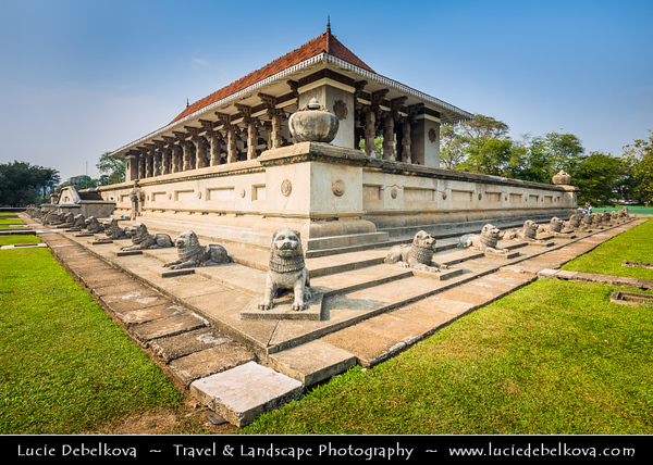 Asia - Sri Lanka - Ceylon - The Pearl of the Indian Ocean - Emerald Isle - Colombo - Independence Square - Independence Memorial Hall - Independence Commemoration Hall - National monument built for commemoration of the independence of Sri Lanka from the British rule