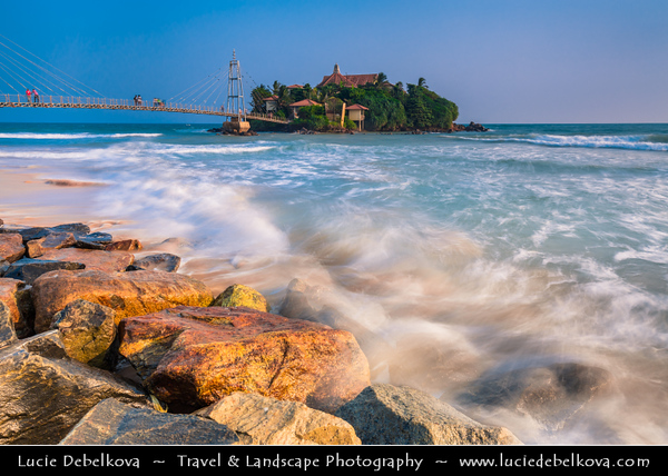 Asia - Sri Lanka - Ceylon - The Pearl of the Indian Ocean - Emerald Isle - Southern Province - Matara - Town on southern coast of Indian Ocean - Matara Parey Island