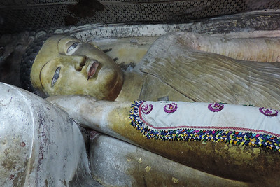 Dambulla - The Final Passing Away of Lord Buddha