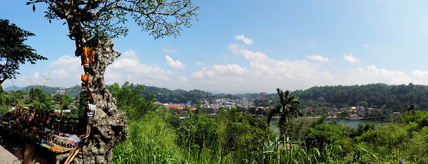 Kandy - City Panorama