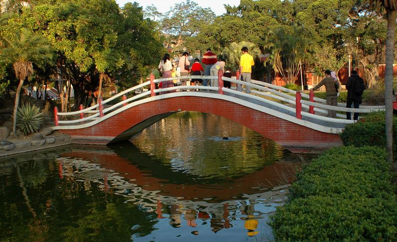 Pond at the Cheng-Kung University
