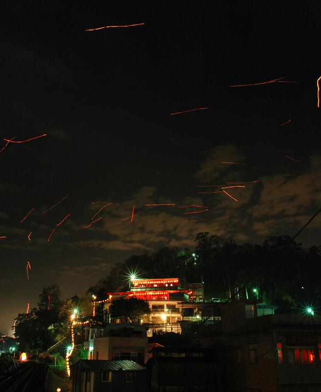 Lantern festival in Ping Si