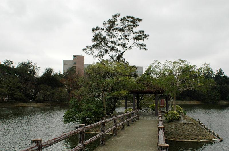 Tsing Hua university lake