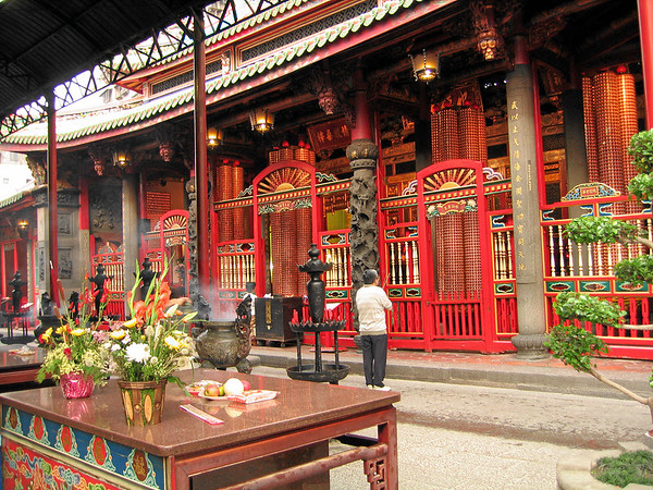 Longshan Temple Rear Hall