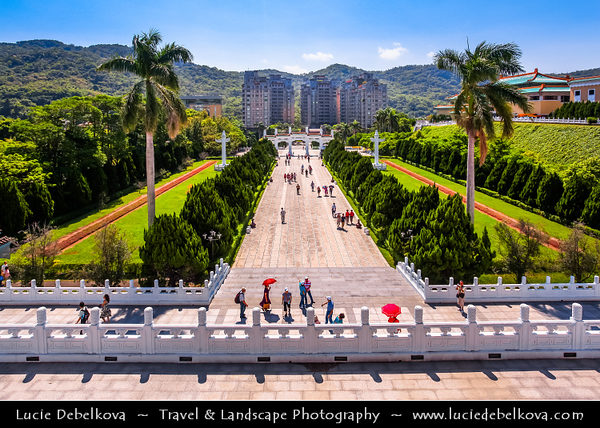 Asia - Taiwan - Republic of China (ROC) - Taipei City - 臺北市 - 台北市 - Capital City - National Palace Museum - Art museum with permanent collection of over 677,687 pieces of ancient Chinese artifacts and artworks, making it one of the largest in the world
