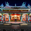 Asia - Taiwan - Republic of China (ROC) - Taipei City - 臺北市 - 台北市 - Capital City - Paoan Temple - Mélange between traditional cultures with Taiwan décor situated in the Tatung District - This temple is mainly devoted to the Paosheng Tati