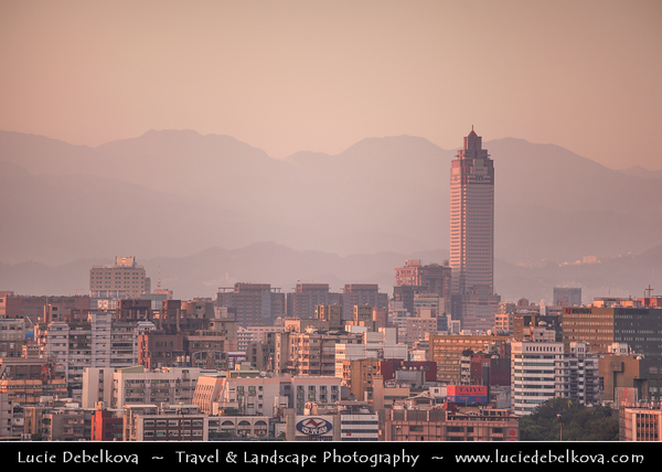 Asia - Taiwan - Republic of China (ROC) - Taipei City - 臺北市 - 台北市 - Capital City - Modern Skyline