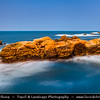 Asia - Taiwan - Republic of China (ROC) - North Coast National Scenic Area - Rocky Shores of East China Sea - Place of geological sights and curiosities