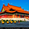 Asia - Taiwan - Republic of China (ROC) - Taipei City - 臺北市 - 台北市 - Capital City - Memorial Hall Square with the National Concert Hall, the National Theater & Chiang Kai-shek Memorial Hall