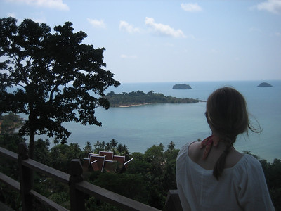 View from lookout on Ko Chang