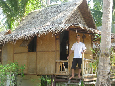 Our hut at Bang Bao, Ko Chang