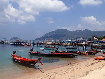 Dragon Boats in Ko Tao