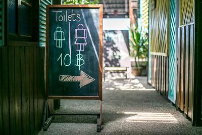 Public Toilets in Thailand