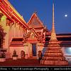 Thailand - Bangkok - Wat Pho or Wat Phra Chetuphon - Temple of Reclining Buddha Statue