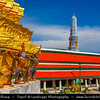 Thailand - Bangkok - Royal Grand Palace - Complex of Historical Buildings & Official residence of Kings of Siam (later Thailand) since 1782 - One of Bangkok's greatest attractions