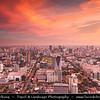 Thailand - Bangkok - Bangkok Skyline - View from 84th floor of Baiyoke Sky Hotel