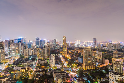 Jan 2018 - Bangkok Thailand, Bangkok at night