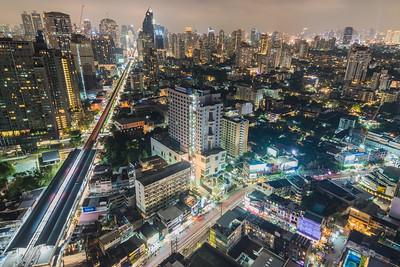 Jan 2018 - Bangkok Thailand, Bangkok at night