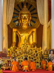 Monks at Prayer I