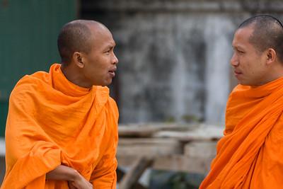 Monks Conversing