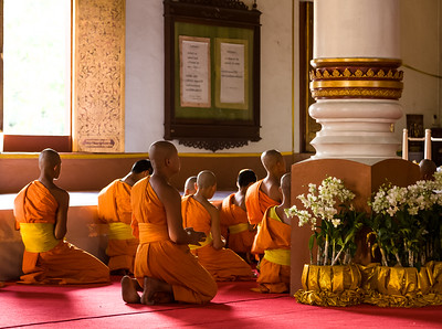 Monks at Prayer II