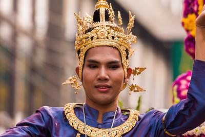 Jeweled Crown, Flower Festival