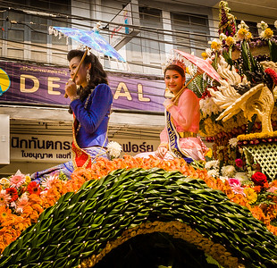 Ms. Chiang Mai and Ms. Thailand, Flower Festival