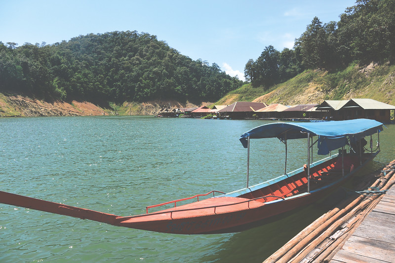 Mae Ngat Reservoir. To get an idea of how cheap Thailand can be, we stayed her for one night and the total price for the weekend came to 800 baht per person, which is roughly $20. This included accommodation, 2-3 meals, and alcohol. September 2015