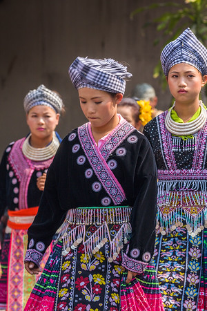 Hmong Girls, Flower Festival
