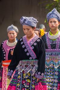 Hmong Girls, Flower Festival