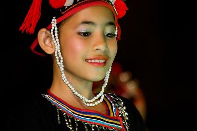 Dance Performer, Flower Festival