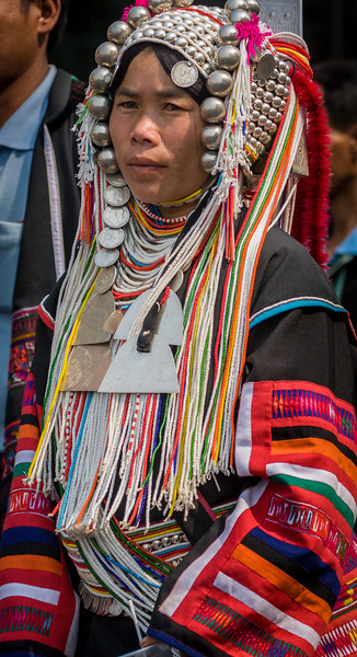 Akha Woman IV, Flower Festival