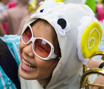 Happy Band Member, Flower Festival
