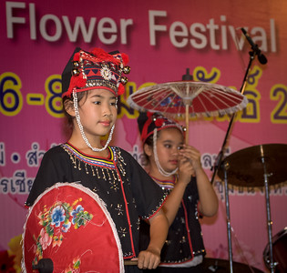 Dance Performance, Flower Festival