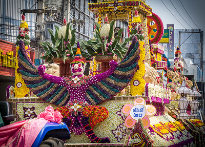 Parade Float, Flower Festival