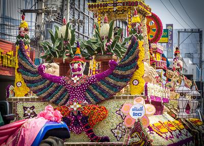 Parade Float, Flower Festival