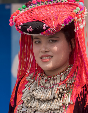 Lhisu Woman, Flower Festival