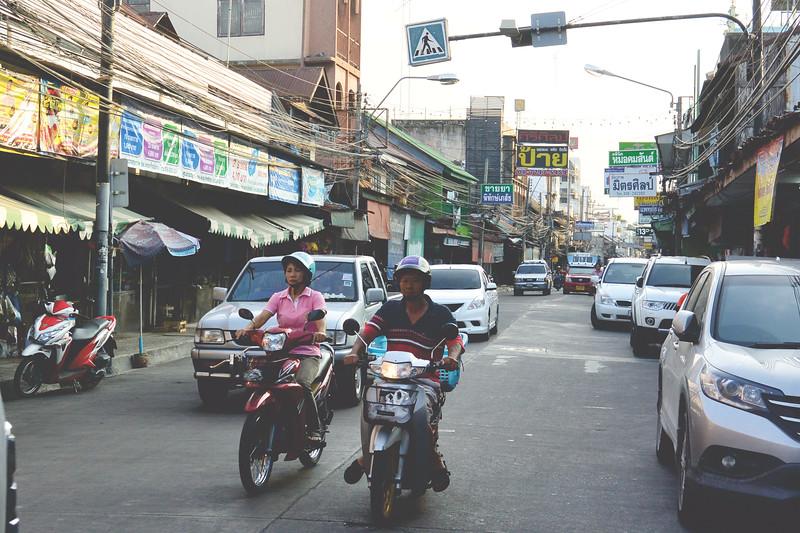 Streets of Chonburi. November 2014