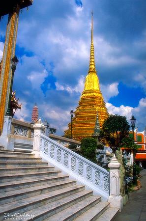 Prasat Phra Dhepbidorn, Royal Grand Palace Grounds View #8 - Bangkok, Thailand