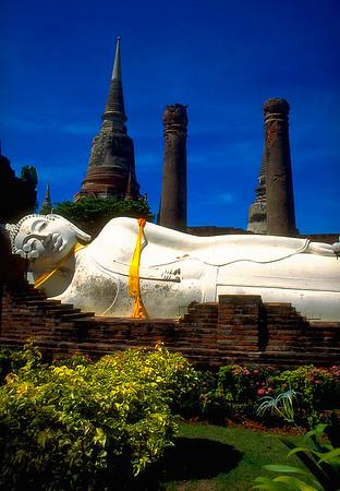 Reclining Buddha #2 - Ayutthaya, Thailand