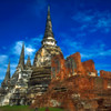 Wat Phra Si Sanphet #2 - Ayutthaya, Thailand