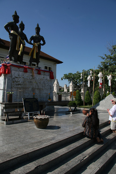 The Three Kings Monument, Saam Kasat, First rulers of Changmai
